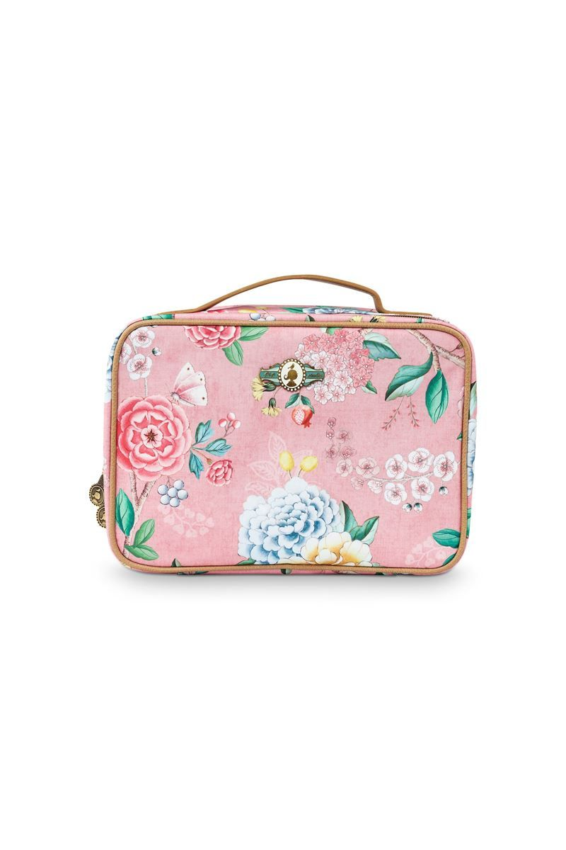 Beautycase Groot Floral Good Morning Roze Pip Studio The Official