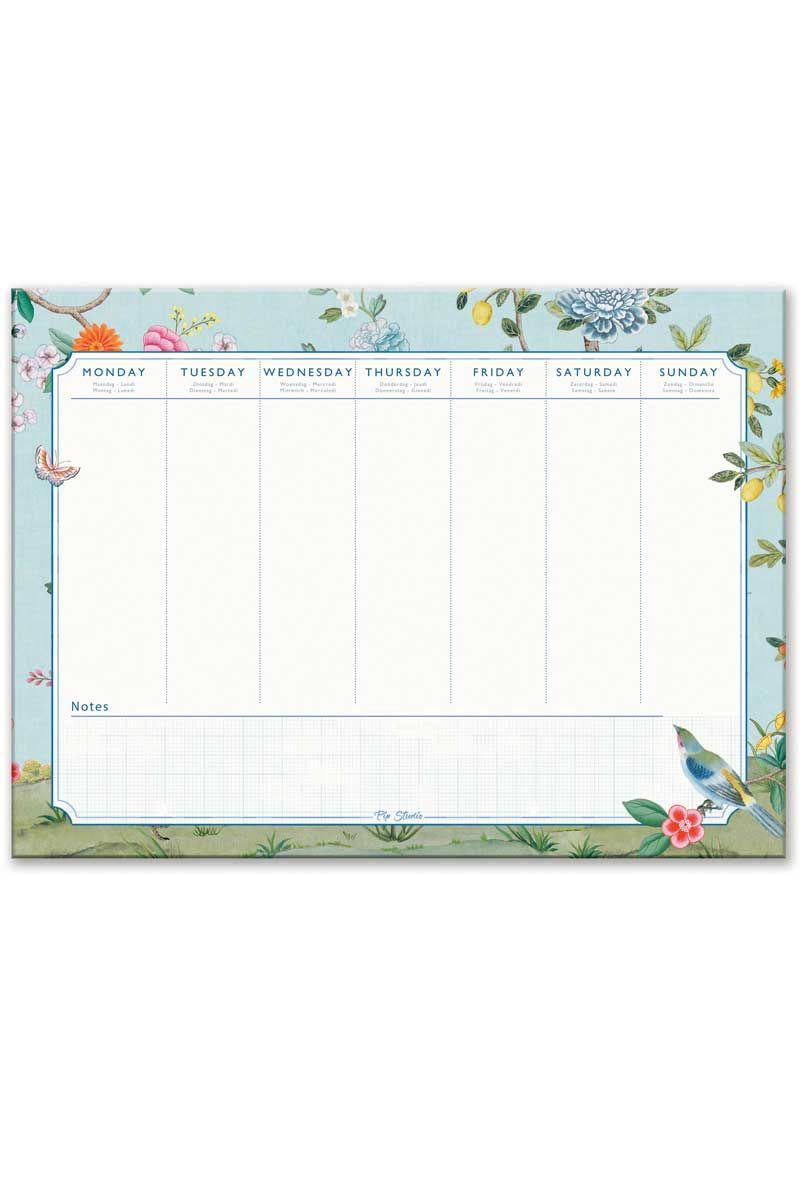Desk Planner A4 Good Morning Pip Studio The Official Website