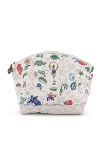 Toiletry bag Large Spring to Life Off White