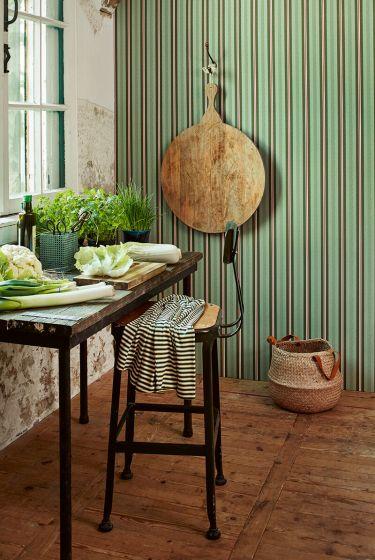 tapete-vliestapete-lines-grün-pip-studio-blurred-lines
