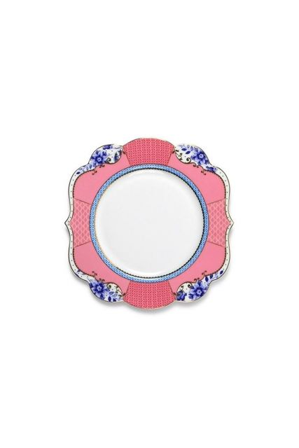 Royal cake plate 17 cm multicoloured