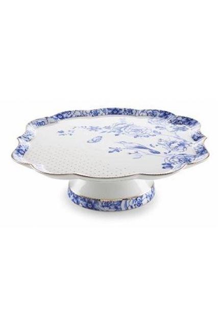 Royal White cake platter