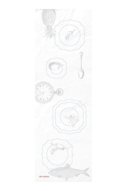 Chemin de table Embroidery Plates Royal