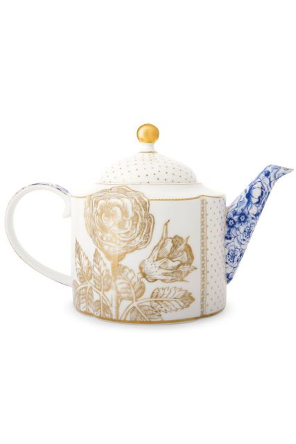 Royal White Teekanne gross