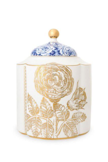 Royal White storage jar