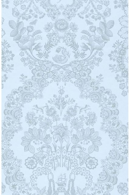 wallpaper-non-woven-vinyl-flowers-bird-light-blue-pip-studio-lacy-dutch