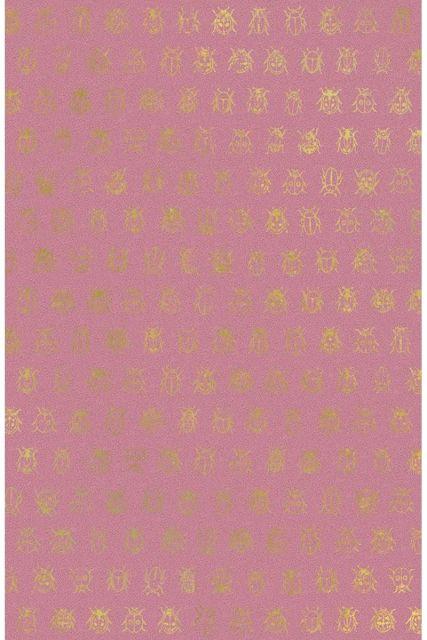 behang-vliesbehang-lieveheersbeestje-donker-roze-pip-studio-lady-bug