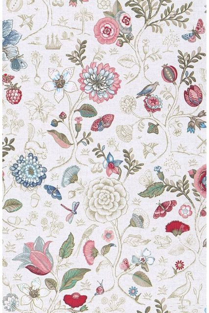 Pip Studio Spring to Life Wallpaper Off White