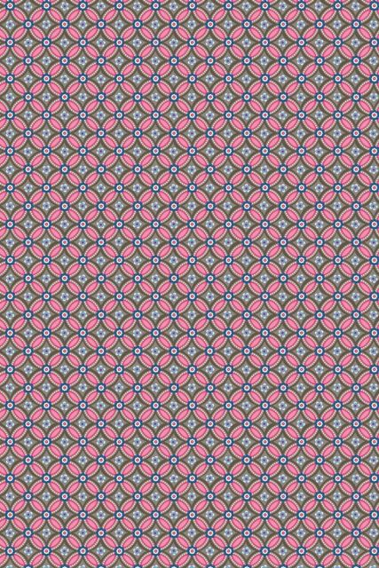 wallpaper-non-woven-vinyl-flowers-brown-pink-pip-studio-geometric