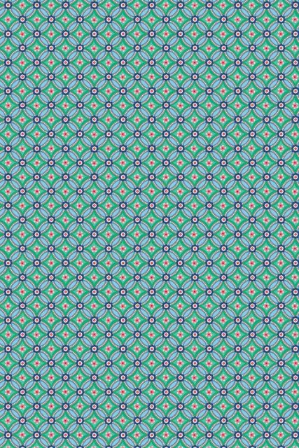 behang-vliesbehang-bloemen-groen-pip-studio-geometric