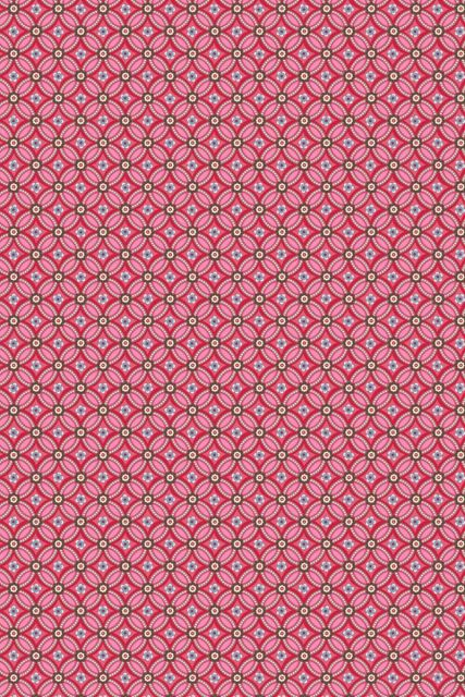 wallpaper-non-woven-vinyl-flowers-burgundy-red-pip-studio-geometric