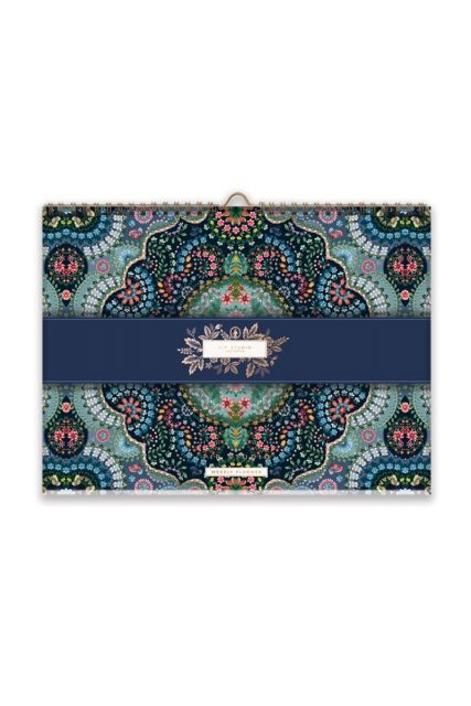 Weekly Planner Moon Delight Blue