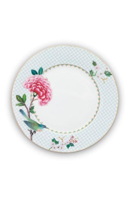 Blushing Birds Breakfast Plate white 21 cm