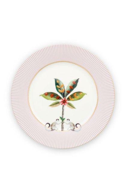 La Majorelle Breakfast Plate Pink 21 cm