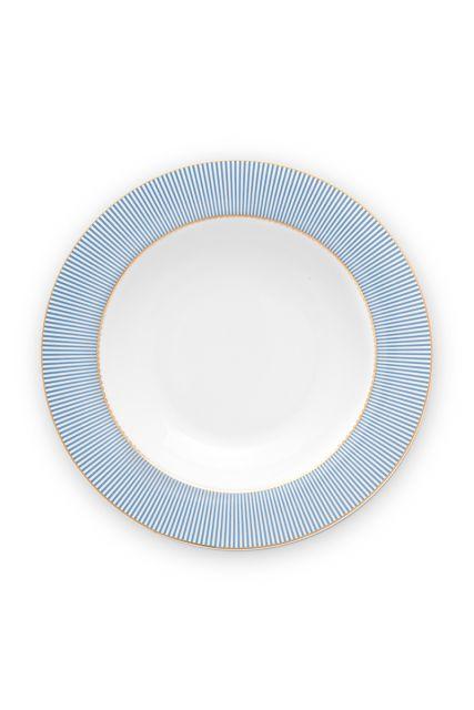 suppen-teller-21,5-cm-blau-goldene-details-la-majorelle-pip-studio