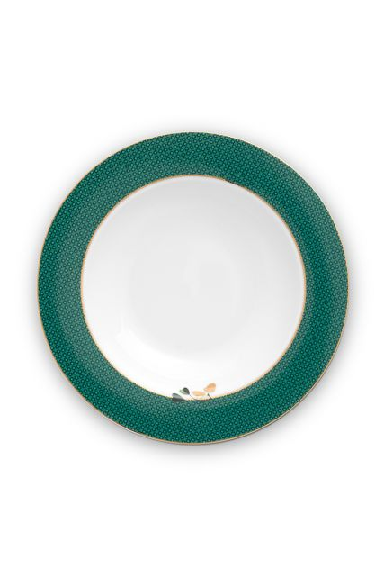 deep-plate-green-gold-details-winter-wonderland-pip-studio-27,5x18,5x6,5-cm