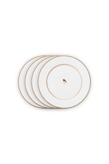 früstück-teller-set-4-plates-21-cm-weiss-goldene-details-love-birds-pip-studio