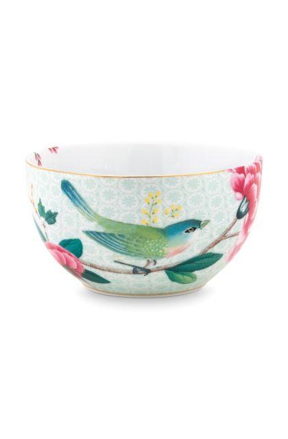 Blushing Birds Bowl white 12 cm