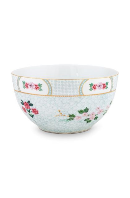 Blushing Birds Bowl white 18 cm