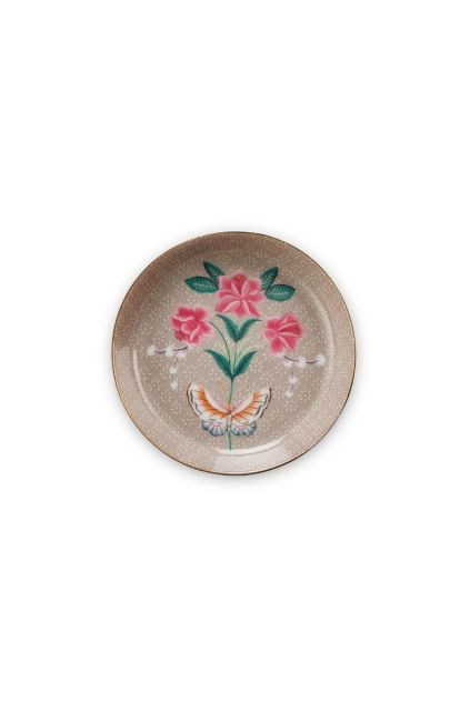 Blushing Birds Tea Tip Khaki 9 cm