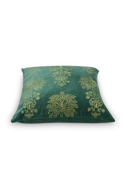 kissenbezug-grün-blumen-quadratisches-Kissen-palmtree-dekokissen-pip-studio-45x45-baumwolle