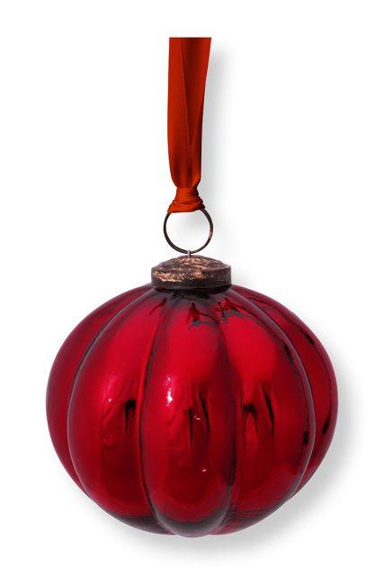 Weihnachts-ornament-glas-runden-streifen-rot-pip-studio-10-cm