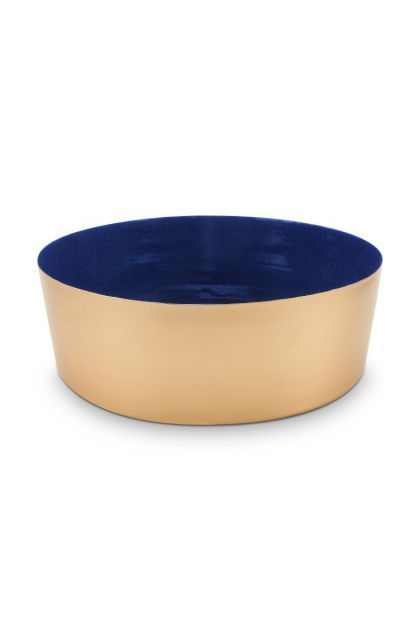 metal-bowl-dark-blue-roses-royal-white-pip-studio-26,5cm