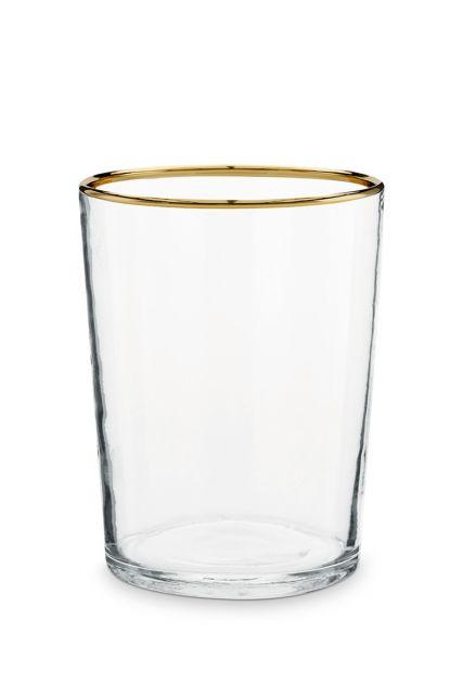 Glass-tea-light-holder-gold-edge-home-decor-pip-studio-7,5x12-cm