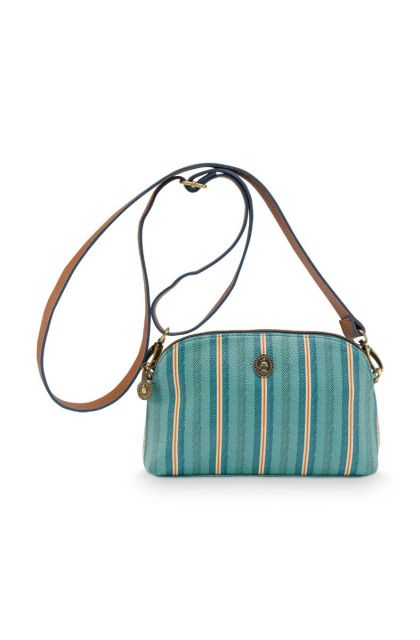 Cross Body Small Blurred Lines Green