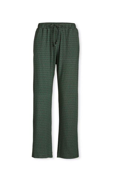 Lange Broek Folk Stitch Groen