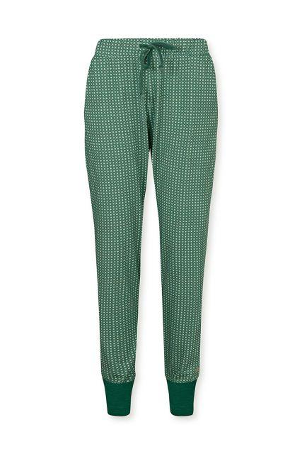 Long-trousers-baroque-print-green-star-tile-pip-studio-xs-s-m-l-xl-xxl