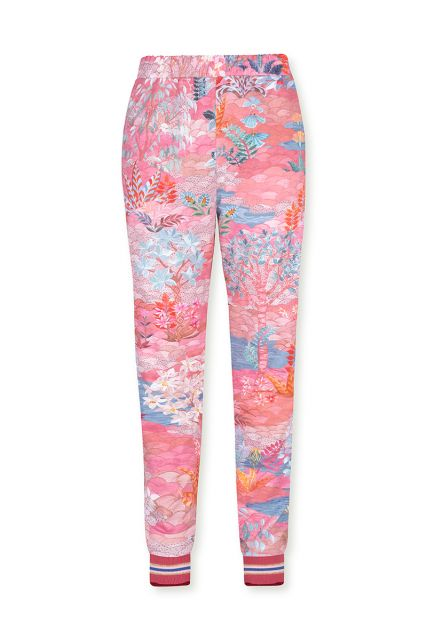 Lange-broek-botanisch-print-roze-pip-garden-pip-studio-xs-s-m-l-xl-xxl