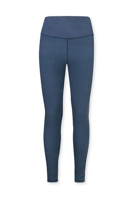 Sport-legging-lange-broek-blauw-lace-flower-pip-studio-xs-s-m-l-xl-xxl