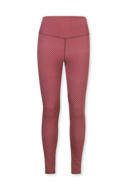 Sport-leggings-trousers-long-red-lace-flower-pip-studio-xs-s-m-l-xl-xxl