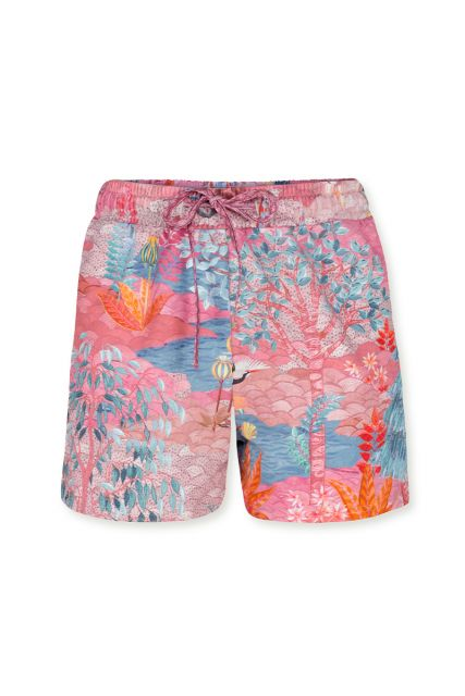 korte-broek-botanisch-print-roze-pip-garden-pip-studio-xs-s-m-l-xl-xxl