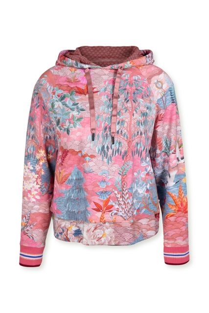 hoodie-lange-mouwen-botanische-print-roze-pip-garden-pip-studio-xs-s-m-l-xl-xxl