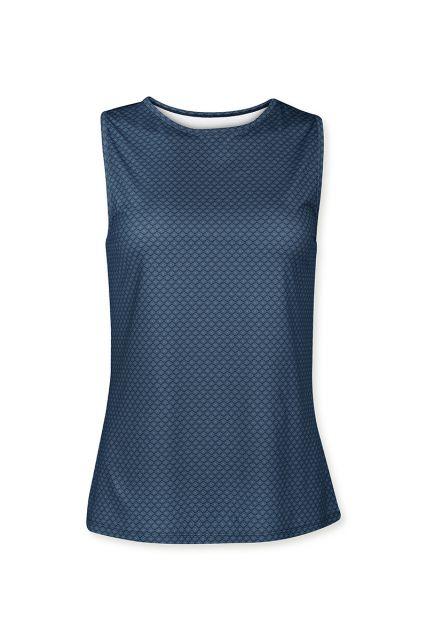 Sport-top-mouwloos-blauw-lace-flower-pip-studio-xs-s-m-l-xl-xxl