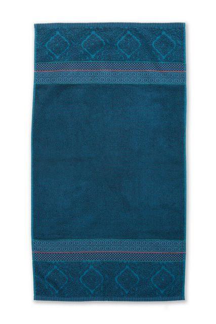 Duschlaken-handtuch-dunkel-blau-55x100-soft-zellige-pip-studio-baumwolle-velours-frottier
