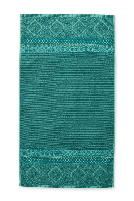 Bath-towel-green-55x100-soft-zellige-pip-studio-cotton-terry-velour