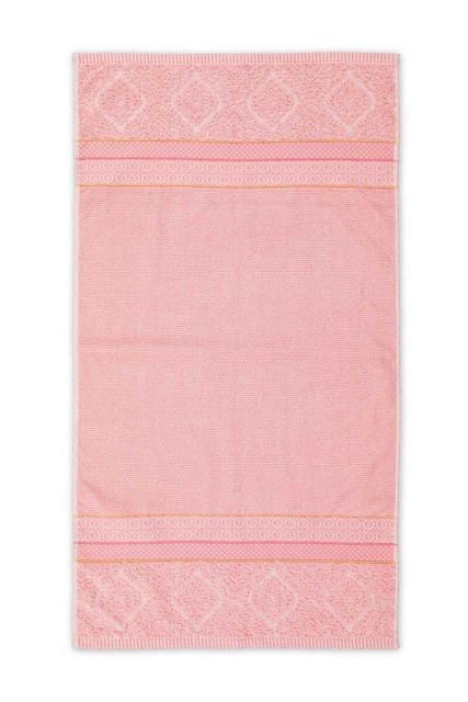 Bath-towel-pink-55x100-soft-zellige-pip-studio-cotton-terry-velour