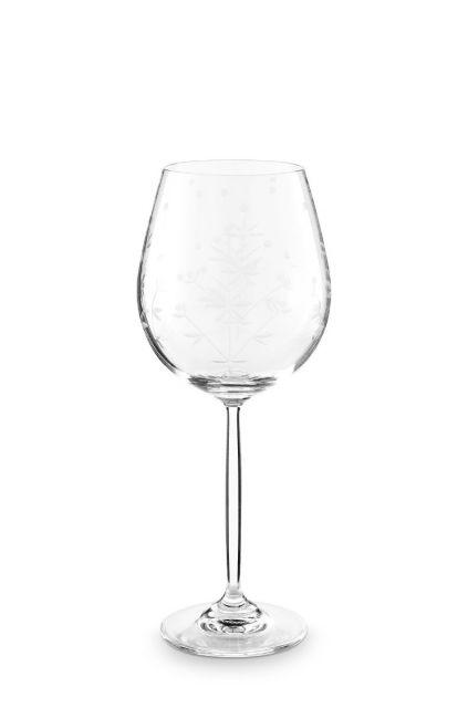 Basics Wine Glass Etching