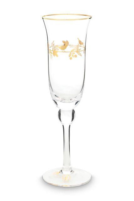 champagne-glas-winter-wonderland-met-gouden-details