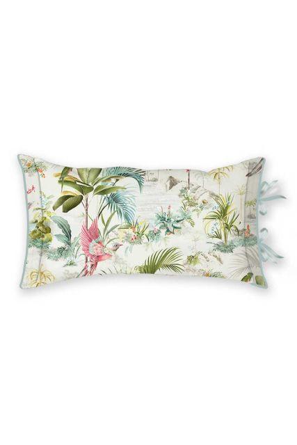 kussen-wit-palm-bladeren-rechthoek-sierkussen-palm-scene-pip-studio-35x60-katoen