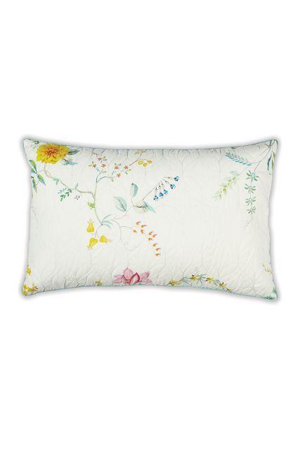 kussen-wit-bloemen-rechthoek-gewatteerd-sierkussen-fleur-grandeur-pip-studio-42x65-katoen