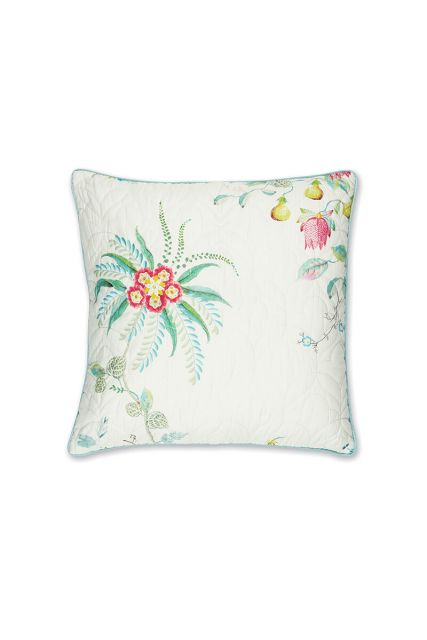 cushion-white-floral-square-cushion-quilted-decorative-pillow-fleur-grandeur-pip-studio-45x45-cotton