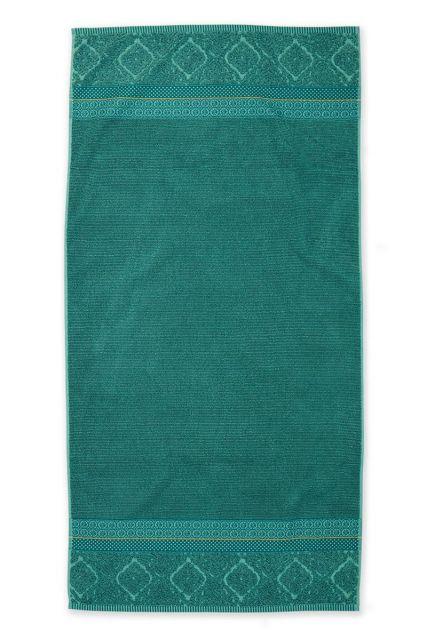 Douchelaken-handdoek-xl-groen-70x140-soft-zellige-pip-studio-katoen-terry-velour