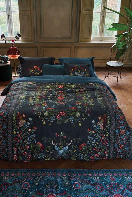 dekbedovertrek-bloemen-donker-blauw-forest-carpet-2-persoons-pip-studio-240x220-140x200-katoen