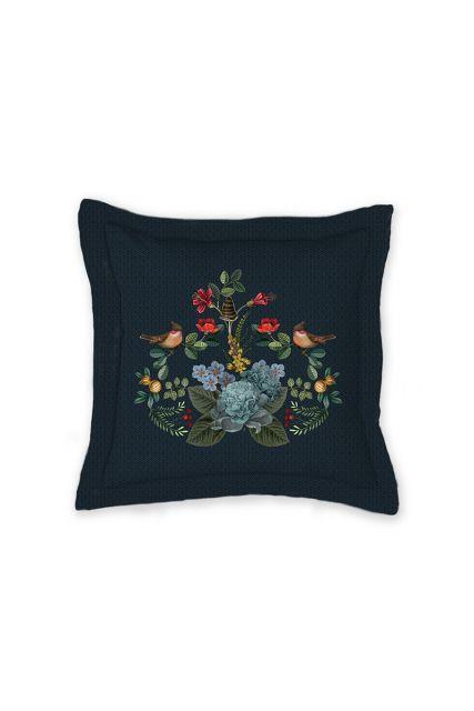 cushion-dark-blue-floral-square-cushion-decorative-pillow-forest-carpet-pip-studio-42x65-cotton