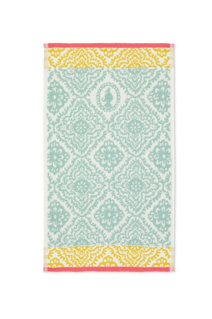Guest-towel-light-blue-30x50-jacquard-check-pip-studio-cotton-terry-velour