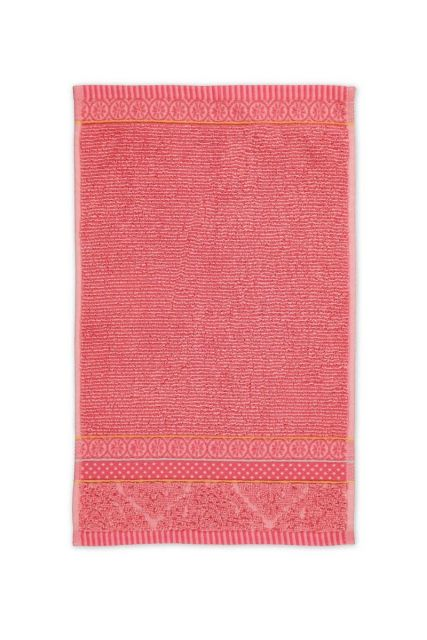 Guest-towel-coral-30x50-soft-zellige-pip-studio-cotton-terry-velour